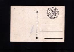 Yugoslavia / Jugoslawien 1989 Bled World Rowing Championship Postcard - Rudersport