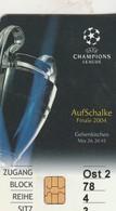 SCHALKE  04  FINALE, 2004 Champions League - Germania