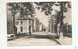 Cp , 55 ,ETAIN , Reconstruit , Rue De METZ , Meuse , Voyagée 1927 - Etain