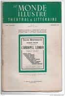 """THÉÂTRE MONTPARNASSE . """" L'ARCHIPEL LENOIR """" . A. SALACROU . MARCEL VIDAL, SUZANNE DEMARS, JACQUES DUFILHO - Réf. N°32P- - Théâtre"""