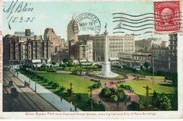 USA-SAN FRANCISCO-UNION SQUARE PARK - San Francisco