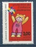 """FR YT 3124 """" Protection De L'Enfance """" 1997 Neuf** - France"""