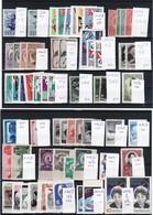 RUSIA - LOTE  SELLOS EN SERIES Y SUELTOS, NUEVOS CON GOMA Y SIN CHARNELA - 1923-1991 URSS