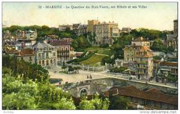 D64  BIARRITZ  Le Quartier Du Port Vieux, Ses Hôtels Et Ses Villas - Biarritz