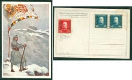 Austria 1917 FDC K.u.K. Militer Verwaltung Montenegro Official Card - 1850-1918 Empire