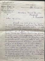 Turquie Constantinople Papier à Lettre Trilingue 1920 - Invoices & Commercial Documents