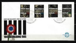 NIEDERLANDE - FDC Mi-Nr. 1270 - 1273 - 40. Jahrestag Der Befreiung - FDC