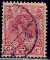 Netherlands, 1898, Queen Wilhelmina, 5c, Sc#65, Used - Gebraucht