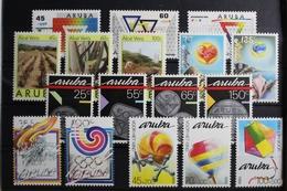 Aruba Jahrgang 1988 Mit 37-53 ** Postfrisch #RS890 - Curacao, Netherlands Antilles, Aruba