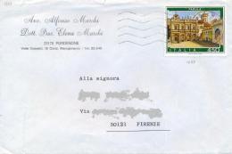Italia 1984 Lettera Con Isolato 450 Lire Turismo: Padula - Ferien & Tourismus