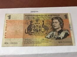 Australia One Dollar Banknote - 1974-94 Australia Reserve Bank (paper Notes)