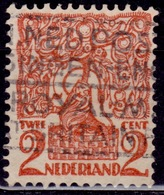 Netherlands, 1923, Lion Of Brabant, 2c, Sc#114, Used - Oblitérés
