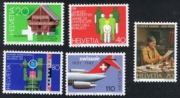 1981 Schönes  Umfangreiches Lot  Michel 1191 - 1195, Kleinbogen 1196, 1197 - 1198, 1206 - 1209  Postfrisch Xx - Ungebraucht