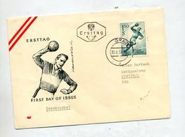 Lettre Fdc 1959 Hanball - FDC
