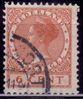 Netherlands, 1927, Wilhelmina, 6c, Sc#173, Used - 1891-1948 (Wilhelmine)