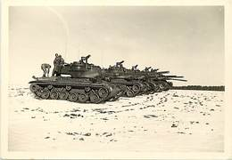 Themes Div -ref X757- Photo Souple 13cms X 9cms - Militaires -regiments -regiment Rcc -char De Combat -tanks -tank  - - War, Military