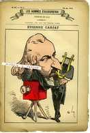 LES HOMMES D'AUJOURD'HUI No47 Dessins De GILL 1879. Etienne CARJAT Image Et 3 Pages De Textes - 1850 - 1899