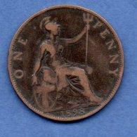 Grande Bretagne  --  1 Penny 1898  -  Km # 790  -  état  TB+ - D. 1 Penny