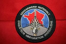 Authentique écusson Gendarmerie Nationale - Police