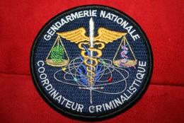 Authentique écusson Gendarmerie Nationale - Police & Gendarmerie