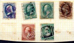 EE.UU. AÑO 1870.1892.  LOTE SELLOS (USED) - 1861-65 Confederate States