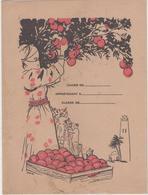 Protège Cahier - L'Orange D'Afrique Du Nord Algerie Maroc Tunisie Illustré Par Rousseur - Buvards, Protège-cahiers Illustrés