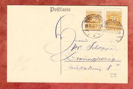 Karte, MeF Ziffer, Vienenburg Nach Braunschweig 1923 (57111) - Covers & Documents