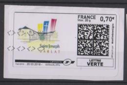 France - étiquette Vignette D'affranchissement Illustrée (n°25) Saint-Joseph Sarlat - 2010-... Vignettes Illustrées