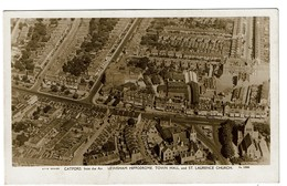 Catford From The Air - Lewisham Hippodrome, Town Hall And St Laurence Church - S.F.S. Series N° 1586 - 2 Scans - Autres