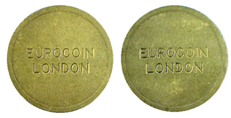 00117 GETTONE TOKEN JETON MACHINE EUROCOIN LONDON - Unclassified