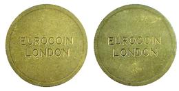 00117 GETTONE TOKEN JETON MACHINE EUROCOIN LONDON - Royaume-Uni