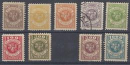 Memel Klaipeda 116/125 Foto Exacta. Falta 1 Sello - Memel (1920-1924)