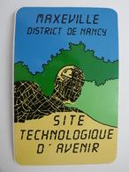 MAXEVILLE District De NANCY Site Technologique D'avenir - Autocollant Ville Et Technologie - Autocollants