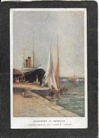 "Bermuda-Cook's Tours,Ship ""Midwinter In Bermuda"" 1909 - Antique Postcard - Bermuda"