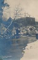 02) HIRSON : Carte-Photo Allemande - Château - Décembre 1917 -1.WK - WW1 - Weltkrieg (scan Recto / Verso) - Hirson