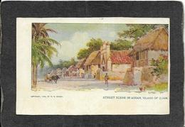 Guam-Street Scene In Assan,Guam 1904 - Mint Antique Postcard - Guam