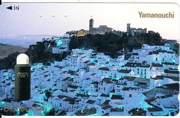 JAPAN - Yamanouchi, NTT Telecard 50 Units(110-011), Used - Landscapes