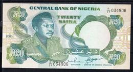 NIGERIA 2003. 20 NAIRA. GENERAL MURTALA R. MUHHAMED . NUEVO SIN CIRCULAR   .PICK 26   B1223 - Nigeria