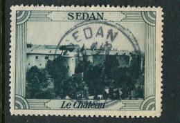 "Sedan Le Chateau Reklamemarke Poster Stamp Vignette No Gum 1 7/8 X 1 3/8"" - Cinderellas"