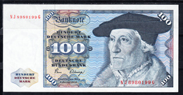 ALEMANIA 1980. 100 MARCOS TIPO SEBASTIAN MÜNSTER. EBC  B1224 - [ 7] 1949-… : RFA - Rep. Fed. De Alemania