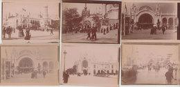 75 Paris Exposition Universelle Lot De 26 Photos Originales De Famille 9x6.5 Cms Port Inclus Europe Prioritaire Simple - Lieux