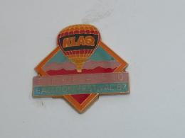 Pin's MONTGOLFIERE, FESTIVAL D EL PASO 1987 - Airships
