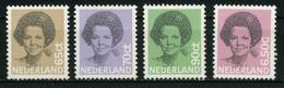 PAYS BAS   Série Courante     N° Y&T  1167 à 1170  ** - Period 1980-... (Beatrix)