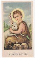 Santino D'epoca, Holy Card - S.Joannes Battista, ED.G.MI 62 (latino,no C) - Image Pieusse, Vedi Fronte/retro. - Santini