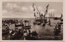 Molfetta (Bari): Processione Della Madonna Dei Martiri Otto Settembre. Formato Piccolo Non Viaggiata - Molfetta