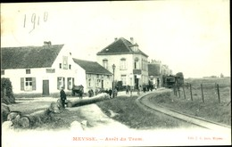 Meise : Arrêt Du Tram (stoomtram)  - Prachtkaart - Meise