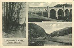 10777406 Hirschberg Schlesien Hirschberg Schlesien Sattlerschlucht Bober Viadukt - Guenzburg