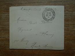 Correspondance Militaire Chalon-sur Saône Le 27-11-1914 - 1914-18