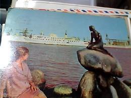 DENMARK COPENHAGEN SIRENETTA E NAVE SHIP  VB1963 GU3363 - Danimarca