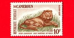Nuovo - MNH - CAMERUN - 1964 - Parco Nazionale Di Waza -  Felini Predatori - Leoni - Lion (Panthera Leo) - 10 - Camerun (1960-...)